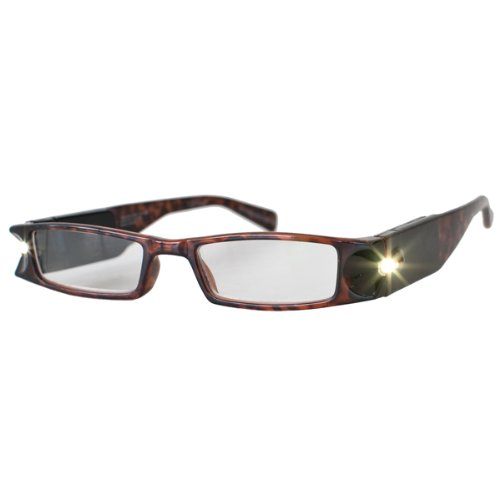 +3.0 Diopter LightSpecs LED Lighted Reading Glasses by MAGNIFYING AIDS