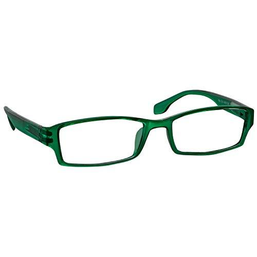 (Reading Glasses 2.25 Readers | Green Single | F501)