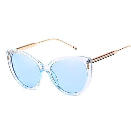 Nuevo Espejo de Amarillo Mujeres Blue Aleación GGSSYY fábrica de sol Sombras Gafas Marco marca de sol Señoras Retro la de Gafas Diseñador wRwqOIUx