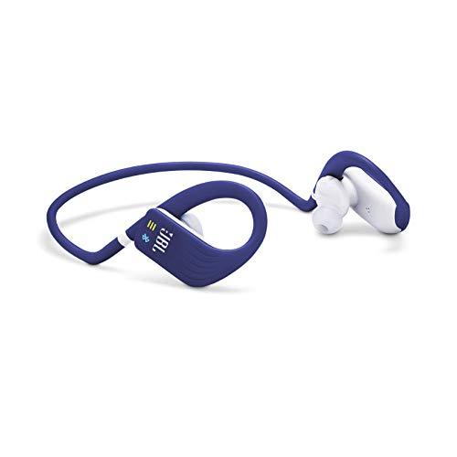 (Renewed) JBL Endurance Dive Waterproof Wireless in-Ear Sport Headphones with Built-in Mp3 Player (Blue)