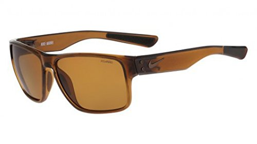 Nike Golf Mavrk P Sunglasses, Military Brown/Walnut Frame, Polarized Brown - Polarized Nike Sunglasses