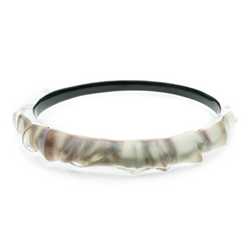 Alexis Bittar Women's Sculptural Bangle Bracelet Mother-Of-Pearl One Size