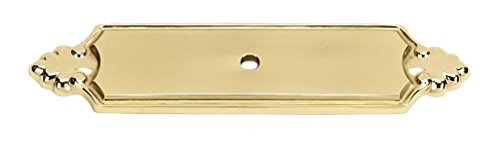 Alno A1454-PB Traditional Bella Backplates, 4-1/4