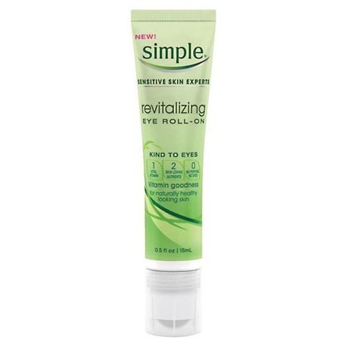 Simple Sensitive Skin Experts Revitalizing Eye Roll-On 0.5 fz (Pack of 3) by Trifing