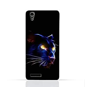Lenovo A3900 TPU Silicone Case With TPU Silicone Case With Panther Eye Design
