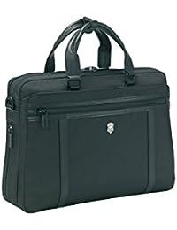 """Werks Professional 2.0 13"""" Brief Laptop Briefcase, Black, One Size"""