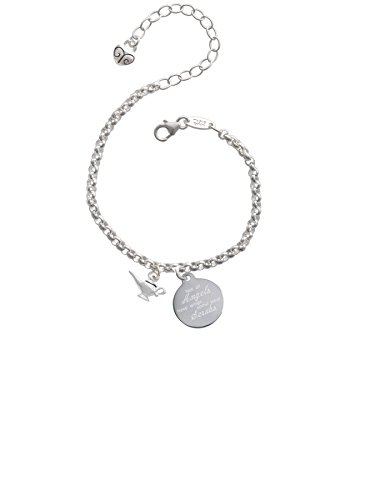 Angel Wings Aladdin - Aladdin's Lamp Not All Angels Have Wings Some Wear Scrubs Engraved Bracelet