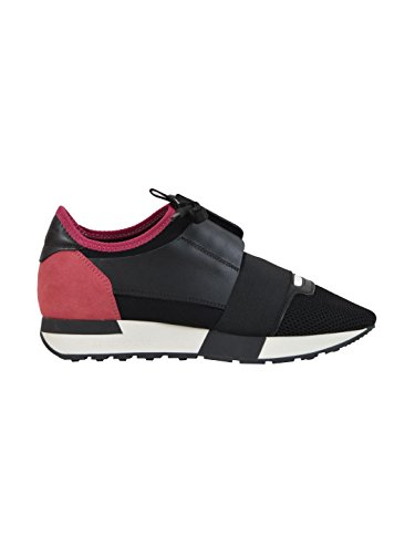 balenciaga-womens-477283woyx41085-black-leather-sneakers