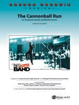 The Cannonball Run - By Gordon Goodwin - Conductor Score