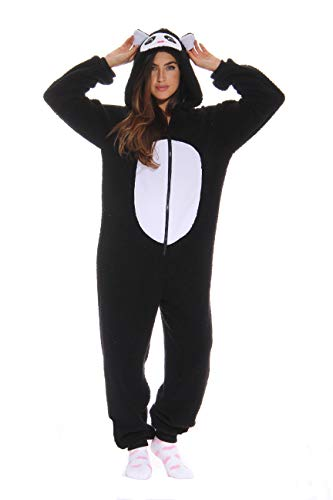 Full Body Panda Costume (Just Love Adult Onesie / Pajamas - Large -)