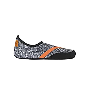 FitKicks MEN's Active Lifestyle Footwear LIMITED.001 EDITION (X-Large, High Frequency - B/W static)