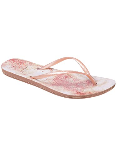 Reef Women's Escape Lux Print Blush Marble Sandal