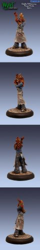 Malifaux Miniatures The Resurrectionists - Morgue Master Dr. Douglas McMourning -