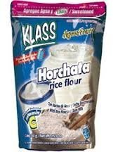Horchata Rice - Klass Horchata, Rice and Cinnamon Drink Mix, 14.1 Oz, (Pack of 3) by Klass