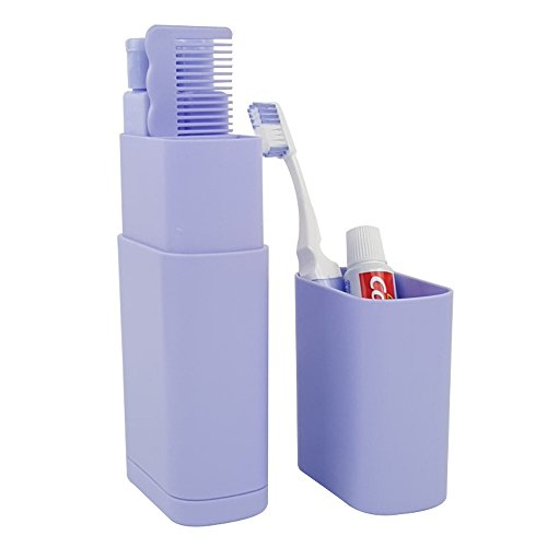 Travel Kits Plastic Toothbrush Cup Toothpaste Mirror Towel C