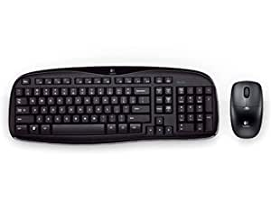 Logitech MK250 2.4G Wireless Optical Mouse Keyboard Kit (Black)