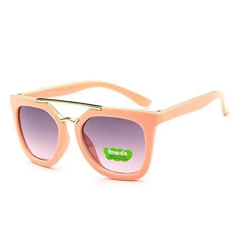 de Infantiles Gafas Sol Gafas Gafas de para Gafas de de Sol de Hombre Haz cuadradas Metal powder Gafas Sol Jelly Verde bebé de Sol Sol Doble para Semi Burenqiq w1t8q0x6w