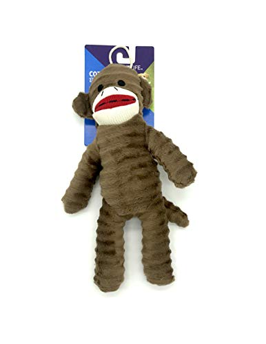 Vibrant Life Cozy Buddy Sock Monkey Brown