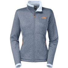 The North Face Agave Jacket Womens Cool Blue Heather XL (Adult North Face Jackets)