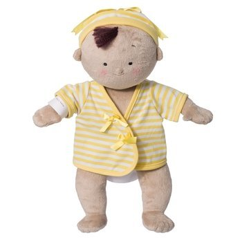 Rosy Cheeks Baby Doll - Tan/Yellow