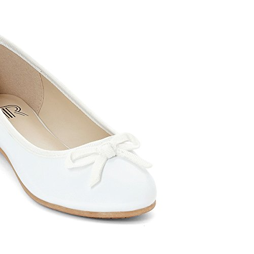 La Redoute Collections Mdchen Lackballerinas 2839 Gre 36 Weiss
