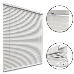 Mini Blind 52X64 - White Huntington