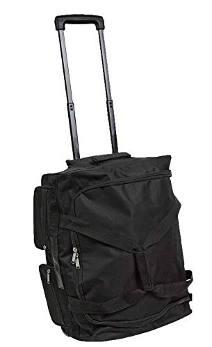 Rolling Duffle Bag 20 Inch Ultimate Convertible Carry On Luggage Space Saver Duffle Bag