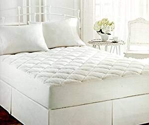 Lauren by Ralph Lauren Bronze Comfort White Luxloft KING Mattress Pad