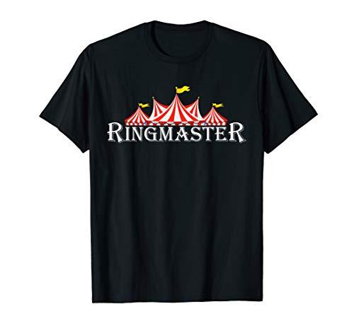 Ringmaster TShirt Funny Circus Halloween Costumes Tee T-Shirt -
