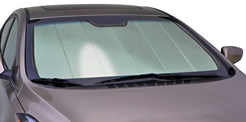 Intro-Tech Automotive HI-51-P Silver Custom Fit Premium Folding Windshield Sunshade for Select Hyundai Santa Fe Models