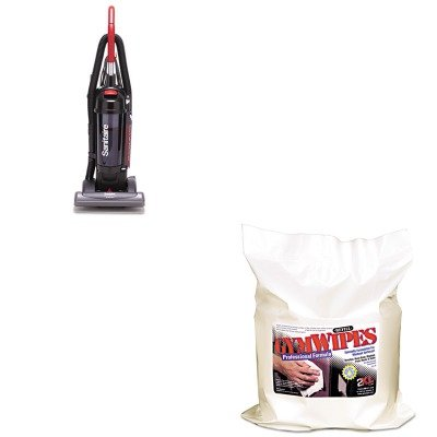 KITEUKSC5845BTXLL38 - Value Kit - Gymwipes Professional Wipes Refill (TXLL38) and Sanitaire Bagless/Cyclonic Commercial Upright Vacuum (EUKSC5845B)