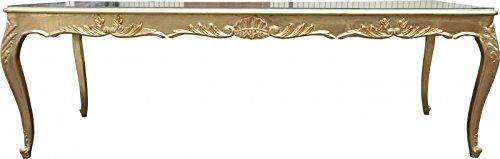 Casa Padrino Barock Esstisch Gold 250 cm - Esszimmer Tisch - Sondermodell