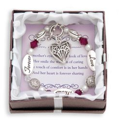 Love Mother Forever Expressively Yours Bracelet Gift Boxed