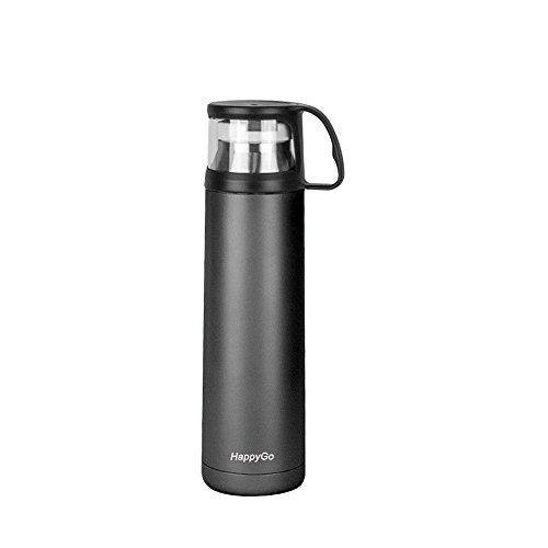 Gevalia Coffee Maker Leaks : HappyGo Vacuum Insulated Water Bottle Stainless Steel Travel Mug Beverage Bottles No BPA Leak ...