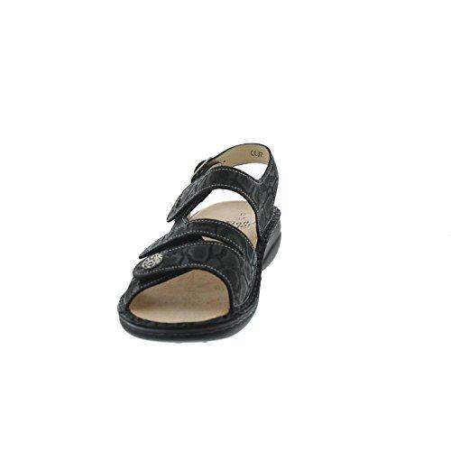 FinnComfort Gomera Größe 39 Schwarz (schwarz)
