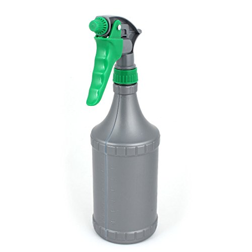 Price comparison product image Gray Green Plastic Trigger Spray Bottle Plants Water Sprayer 700ml