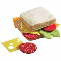HABA Soft Biofino Sandwich - Jugar comida
