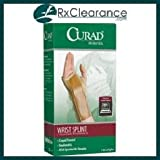 Curad Elastic Wrist Splint with Aluminum Stay, Right, Large