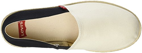 Levi's Rosadale White Woman Espadrillas White Black Regular TTxr4w