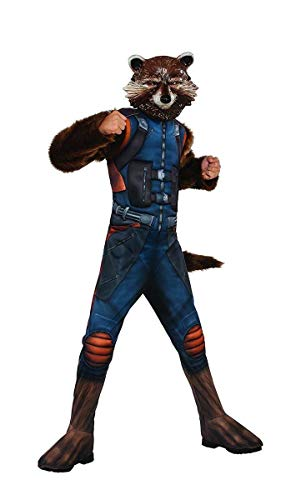 Rubie's Guardians of The Galaxy Vol. 2 Deluxe Muscle Chest Rocket Raccoon Costume, Medium