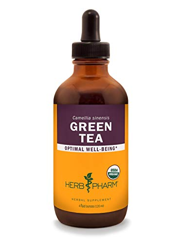 4 Ounce Herb - Herb Pharm Certified Organic Green Tea Liquid Extract - 4 Ounce