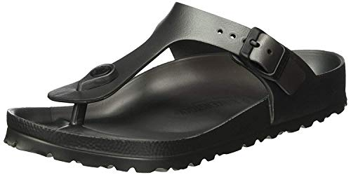 Birkenstock Essentials Unisex Gizeh EVA Sandals Metallic Anthracite 37 N EU (US Women's 6-6.5)