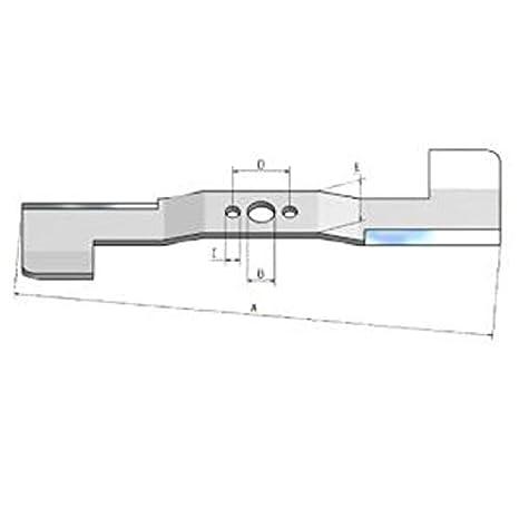 Cuchillo Cuchilla de repuesto para cortacésped Honda Izy HRG ...