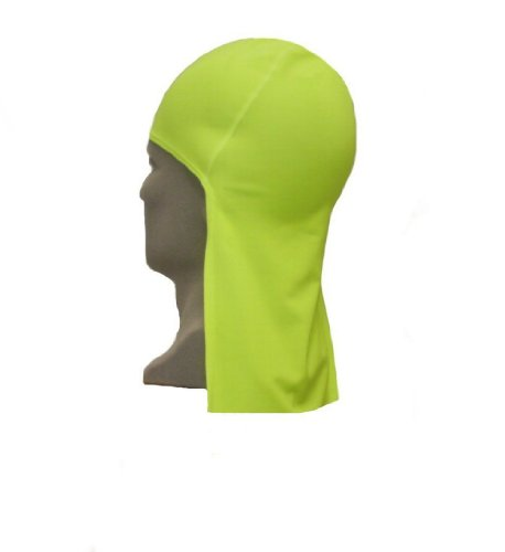 CODA CAP UPF 50+ Beanie Hat with Neck Shade, Lime