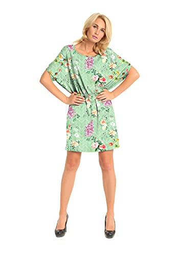 Rajoria Instyle Digital Printed Georgette top for Women's/Night Dress/Nighty/Night Gown/top (ODG-1)