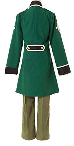 Relaxcos APH Axis Powers Hetalia America Army Uniform Cosplay Costume