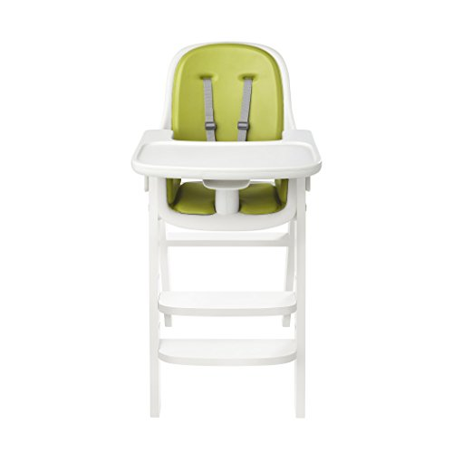 OXO Tot Sprout High Chair, Green/White (Sprout Chair High)