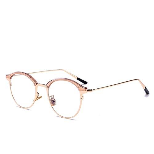 Hommes Non Lunettes Vintage Tatkldisu Femmes Pink Pour correctrices Vue Métal color Pink De Et q1fE8
