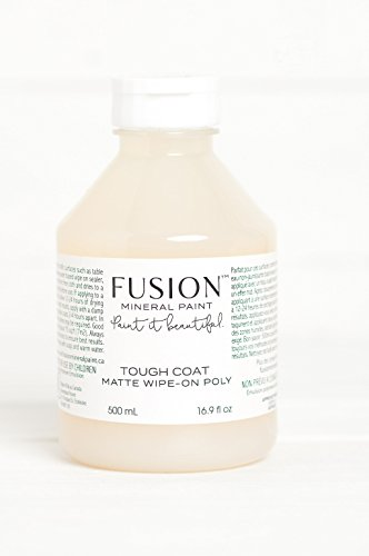 (Fusion Mineral Paint Tough Coat Matte Wipe-on Poly)