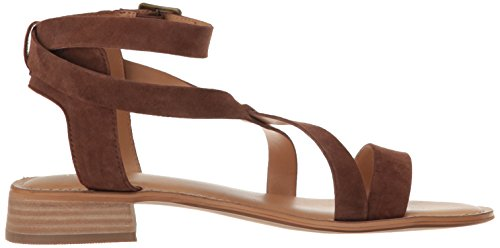 Franco Sarto Womens Alora Dress Sandal Mid Brown L2OzZM